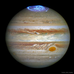 Jupiter as a symbol of Jesus Christ